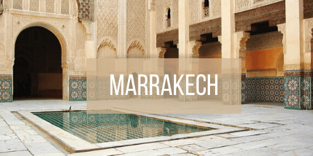 Button to click to view Marrakech Travel Guide.