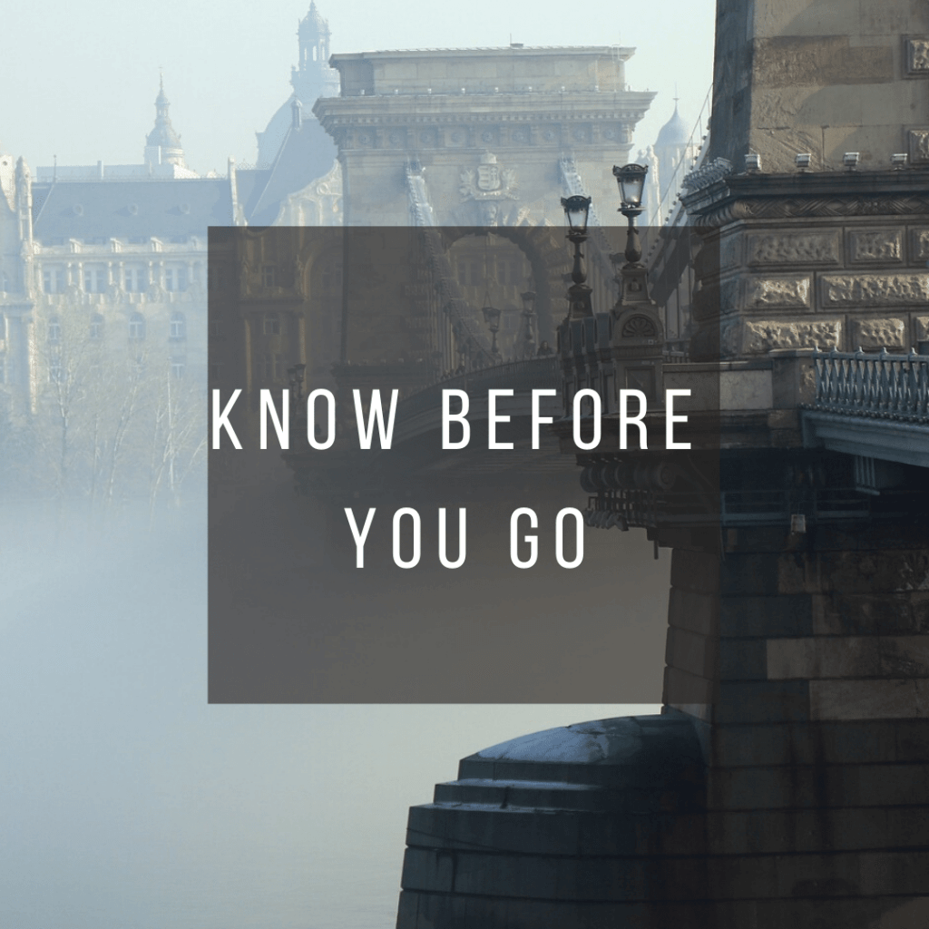 Button to click to learn what you need to know before you go to Hungary.