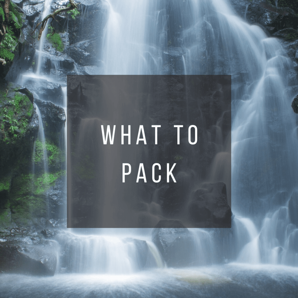 Button to click to learn what to pack for a trip to Costa Rica.