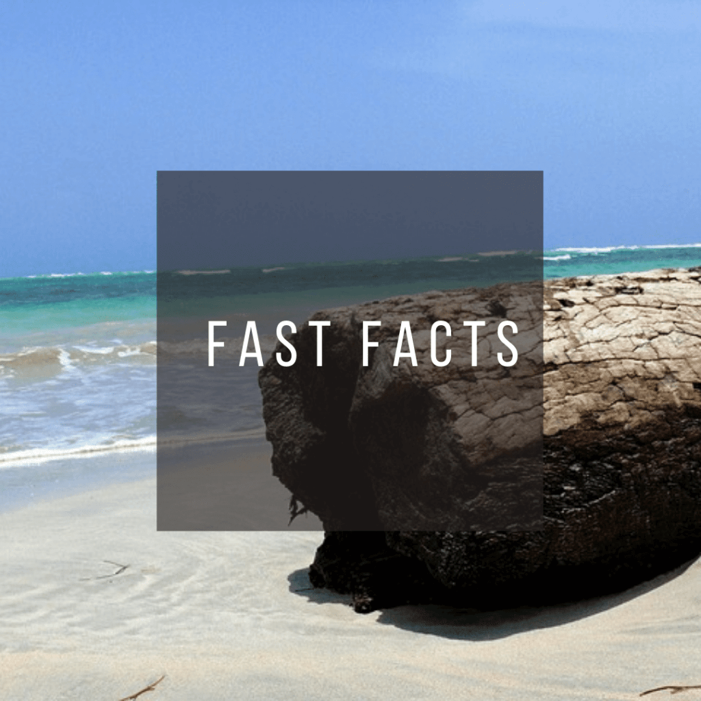 Button to click to learn fast facts about the Dominican Republic.