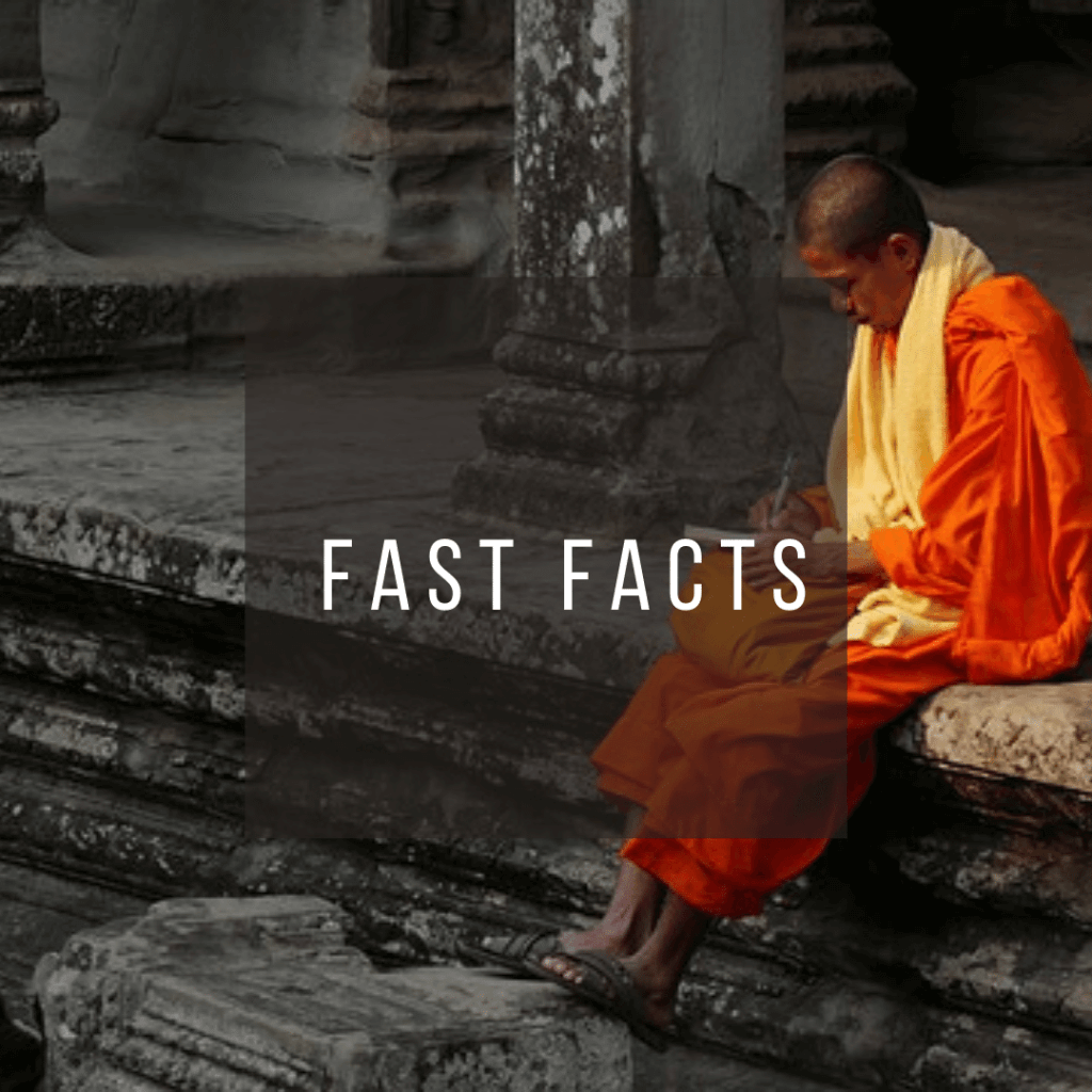 Button to click to learn fast facts about Cambodia.