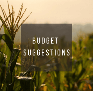 Button to click to learn budget suggestions for a trip to Bali Indonesia