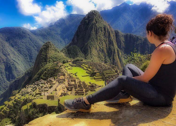 Picture of a girl on a Trip to Peru while visiting Machu Pichu in Cusco