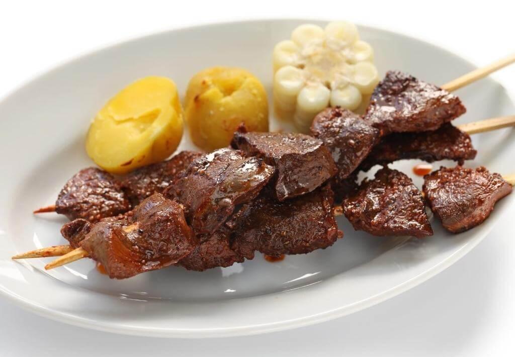 Peruvian Food Anticucho