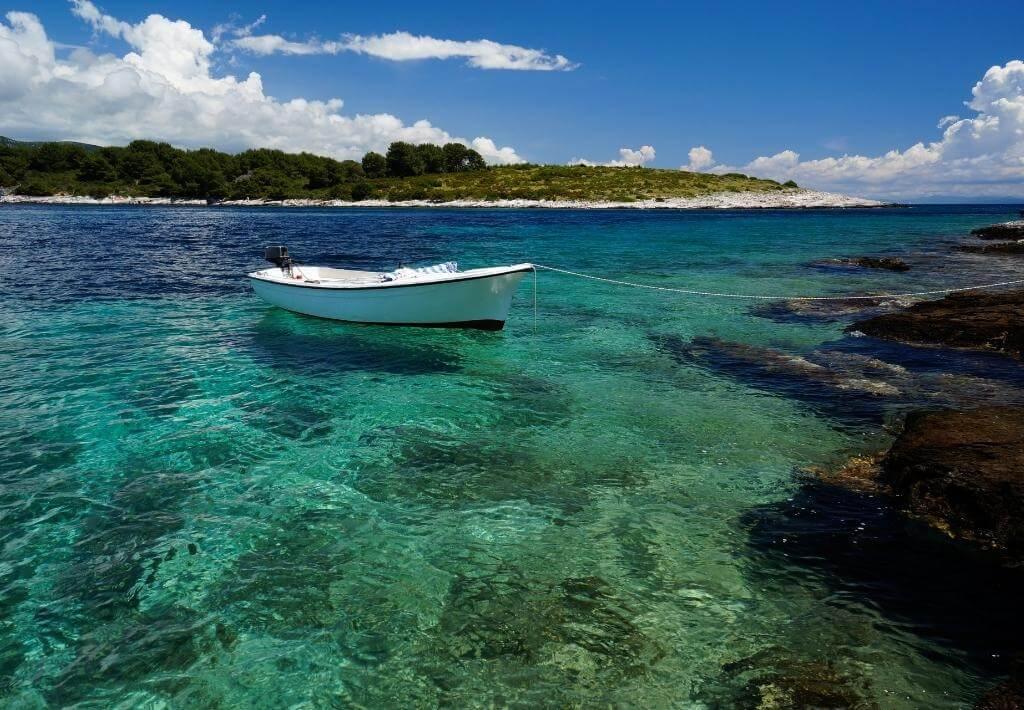 Islands near Hvar Croatia