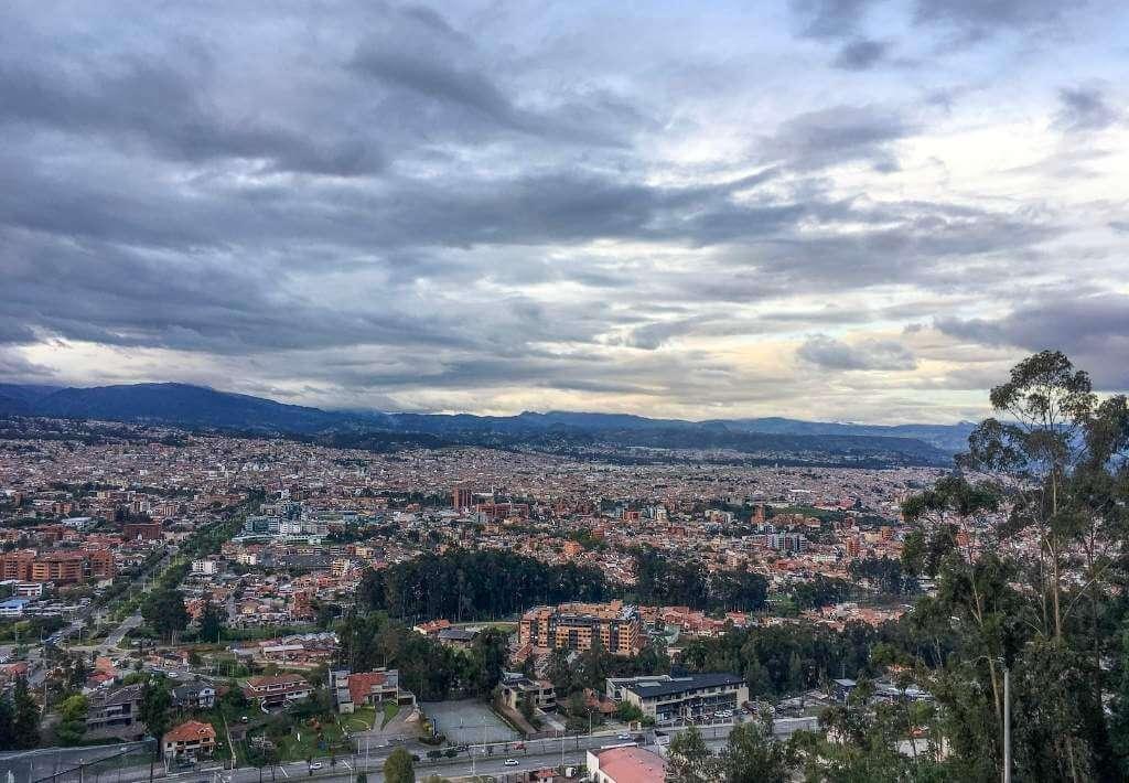 Turi Viewpoint in Cuenca Ecuador