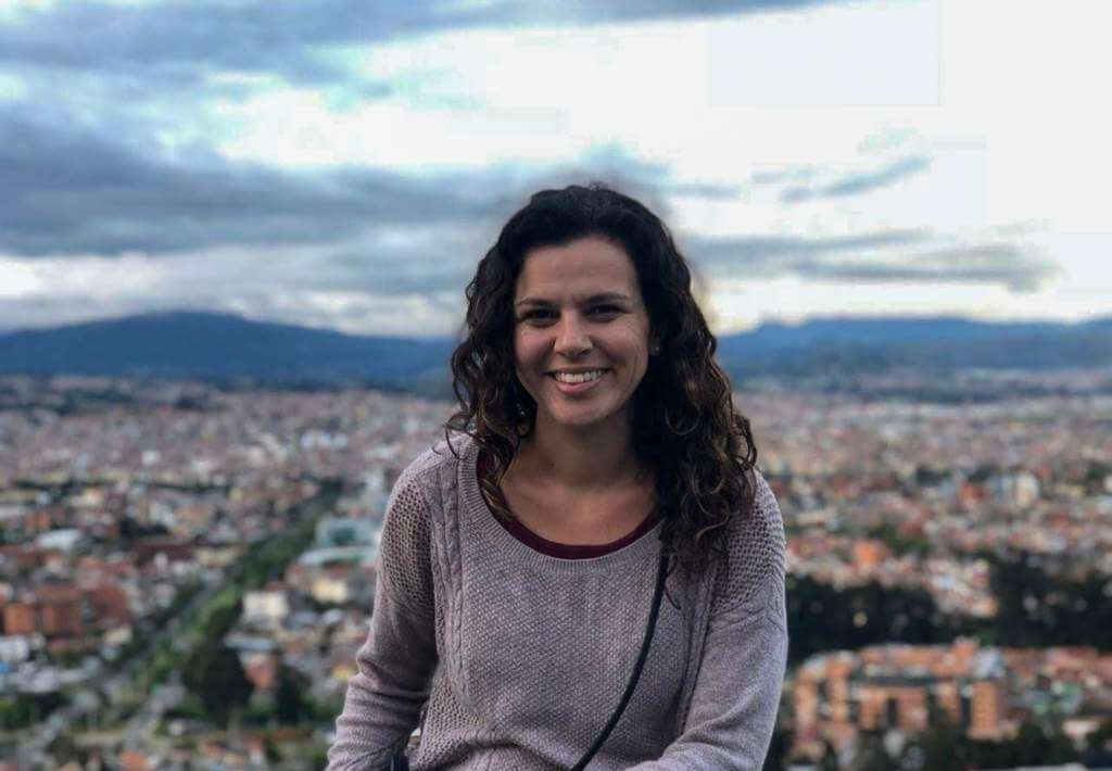 Travel Blogger named Jagsetter sitting in Turi Viewpoint in Cuenca, Ecuador
