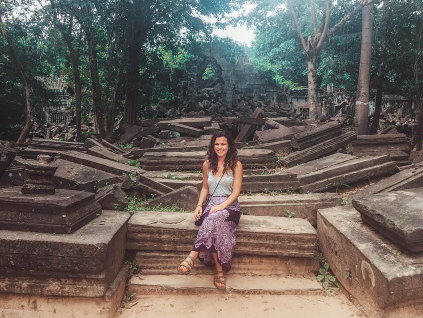 Travel Blogger in Cambodia