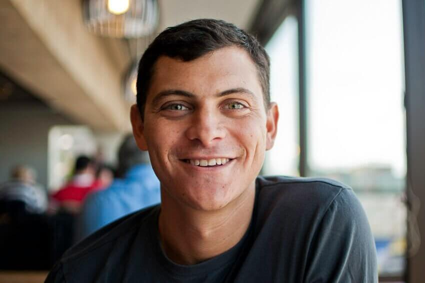 Portrait of Nomadic Matt - famous travel blogger
