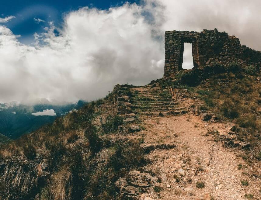 The Inti Punku Sun Gate at Machu Picchu