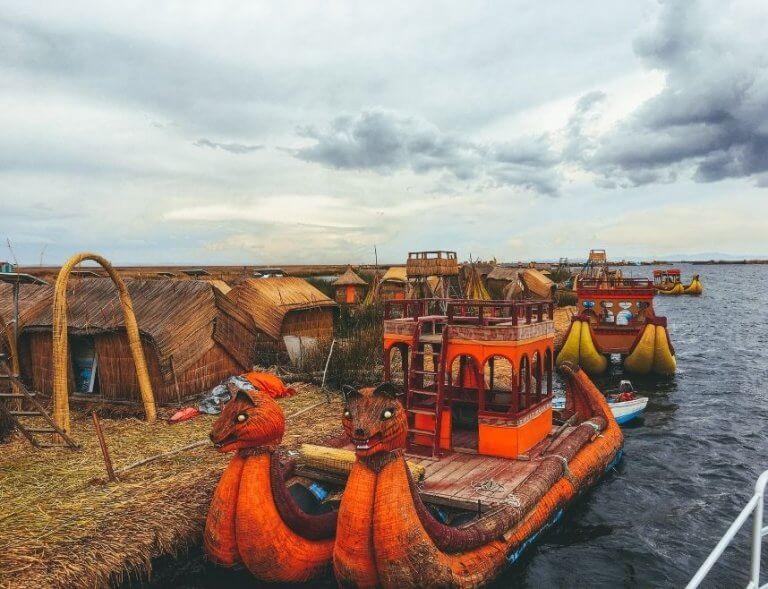 Peru Itineraries Decorative Tile for Blog Navigation on Jagsetter Homepage