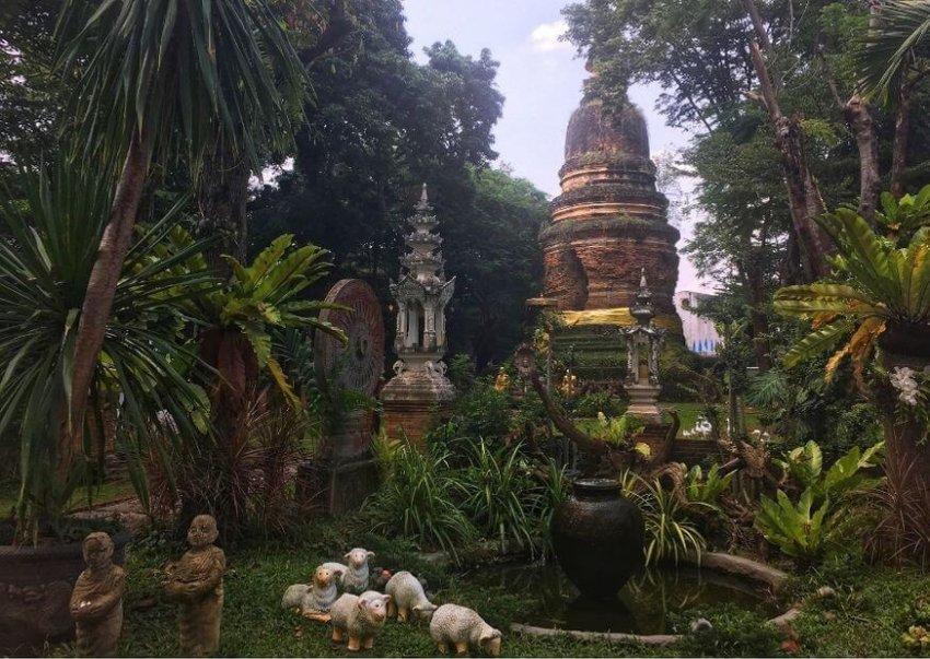 Wat Pan Sao Temple in Chiangmai
