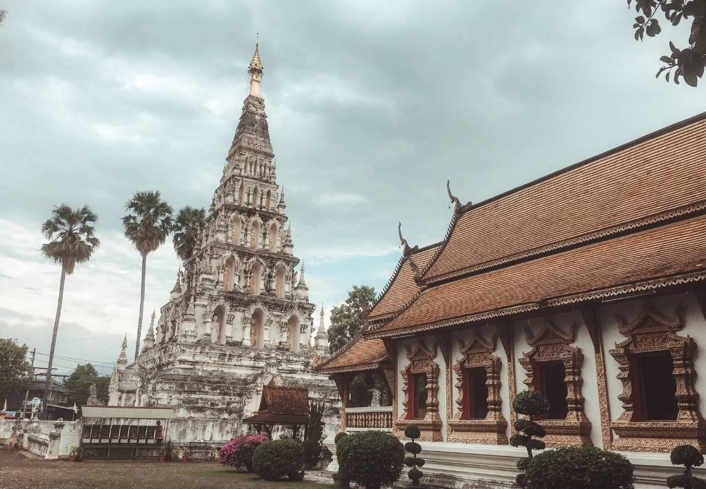 The Best Temples in Chiang Mai Thailand - decorative tile to click and view blog post from home page