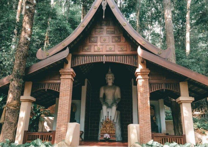 Wat Pha Lat Temple in Chiangmai Thailand